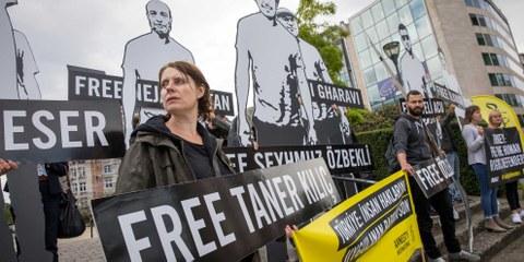 EU-Türkei-Gespräche: Amnesty widerspricht türkischem Aussenminister