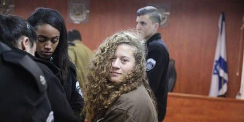Il faut libérer la jeune militante palestinienne Ahed Tamimi
