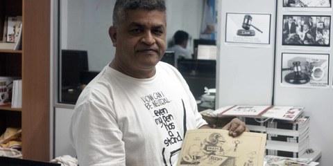 Anklagen gegen Cartoonist Zunar fallen gelassen