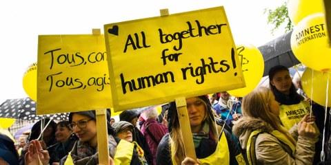 Erfolgreicher Einsatz für die Menschenrechte im 2016
