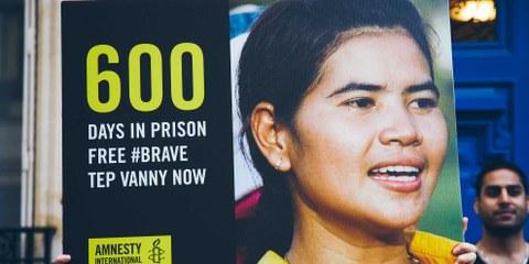 Cambodge: Tep Vanny est libre