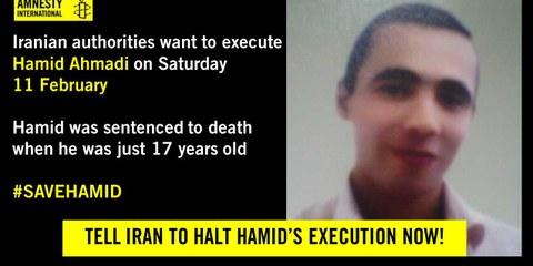3 Tage, um das Leben von Hamid Ahmadi zu retten