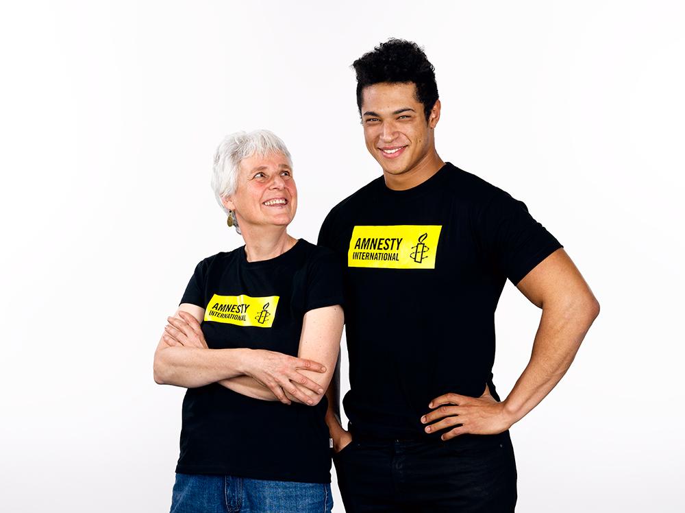 T-Shirt Amnesty (Herren/Unisex)