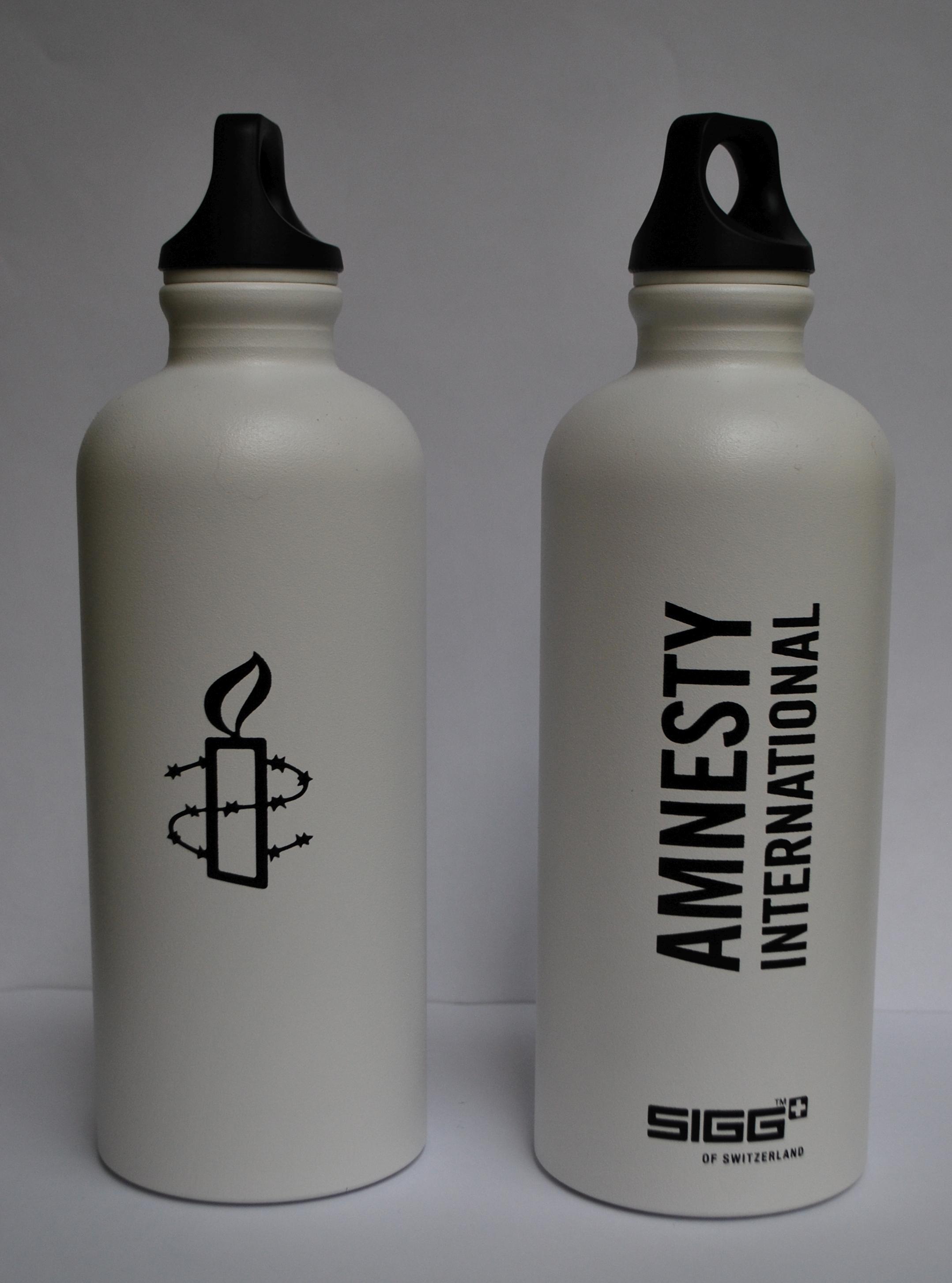 SIGG-Flasche weiss