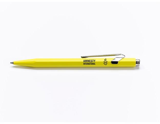 Kugelschreiber_Caran_d_Ache_Amnesty