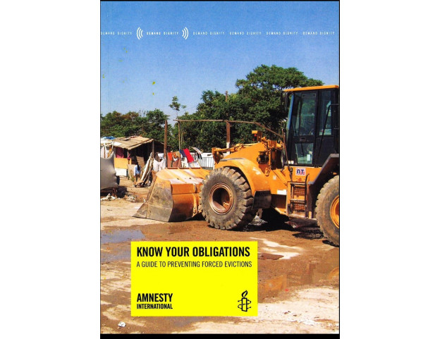 Know Your Obligations: A Guide to Preventing Forced Evictions