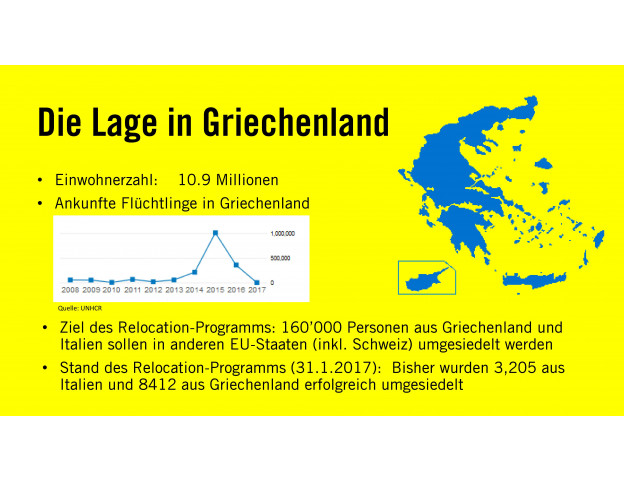 """Plakat A3 """"Die Lage in Griechenland"""",  zur Ausleihe"""