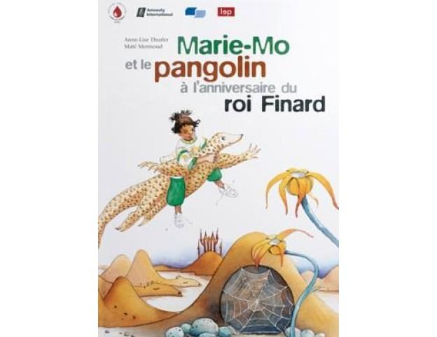 Marie-Mo und der Pangolin an der Geburtstagsfeier des Königs Schlaudumm