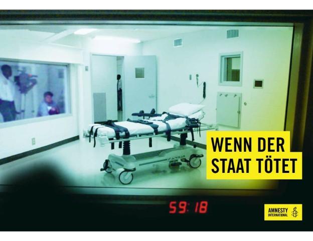 Flyer «Wenn der Staat tötet»