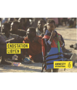 "Flyer ""Endstation Libyen"""