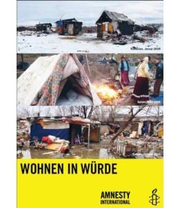 """Poster """"Wohnen in Würde"""""""