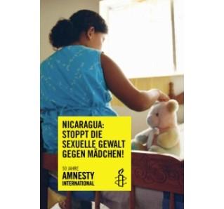"""Poster """"Stoppt die sexuelle Gewalt gegen Mädchen"""""""
