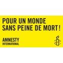 Bannière « Pour un monde sans peine de mort »