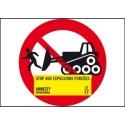 Drapeau Stop aux expulsions forcées