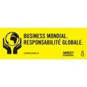 """Bannière """"Business Mondial, responsabilité globale"""""""