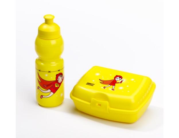 Gourde et boîte à encas pour enfants