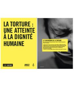 Exposition sur le thème de la torture à emprunter