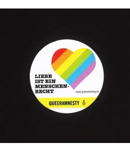 Liebe ist ein Menschenrecht-Sticker