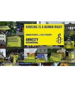 Poster Housing is a Human Right