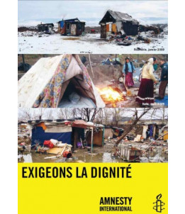 """Poster """"Exigeons la dignité"""""""