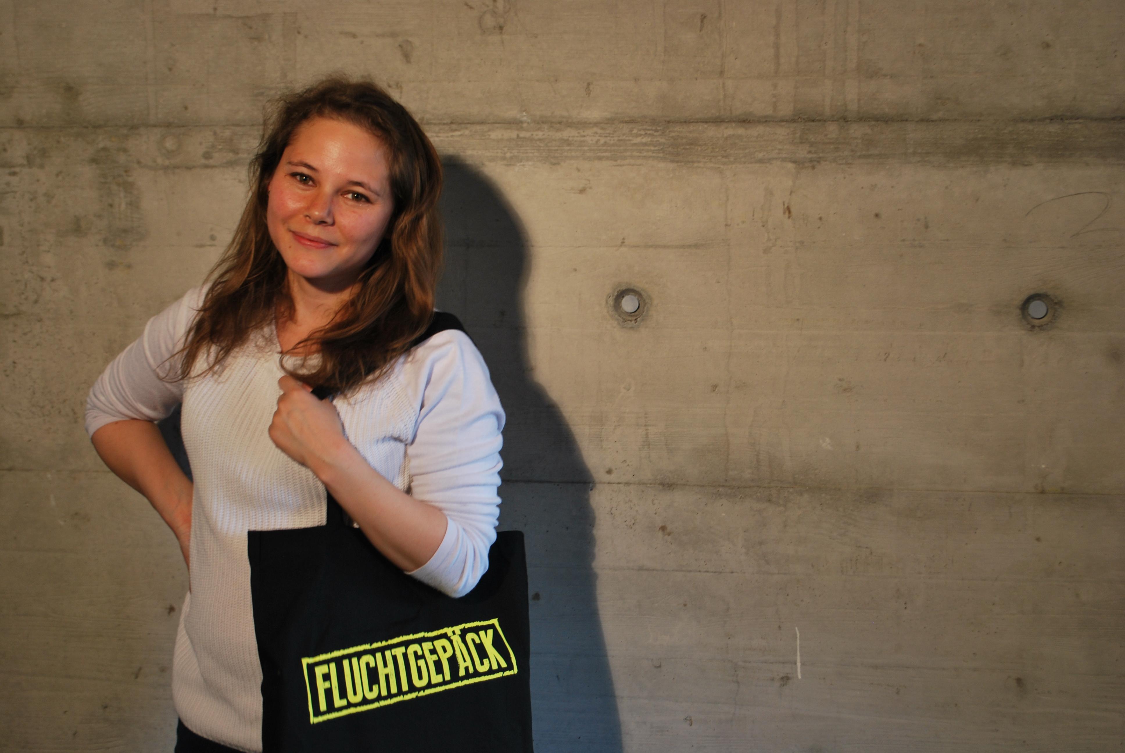 "Fairtrade-Stofftasche ""Fluchtgepäck"""