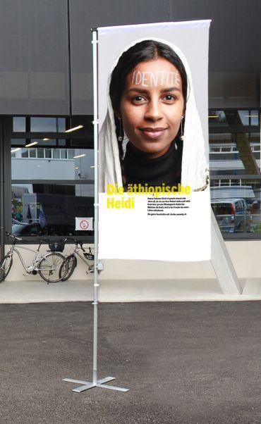 Fahnen, Ausstellung «Unvergesslich: unsere Geschichten»