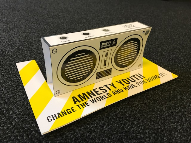 Flyer AMNESTY YOUTH BoomBox