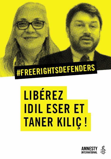 Flyer: Turquie: libérez les défenseurs des droits humains!