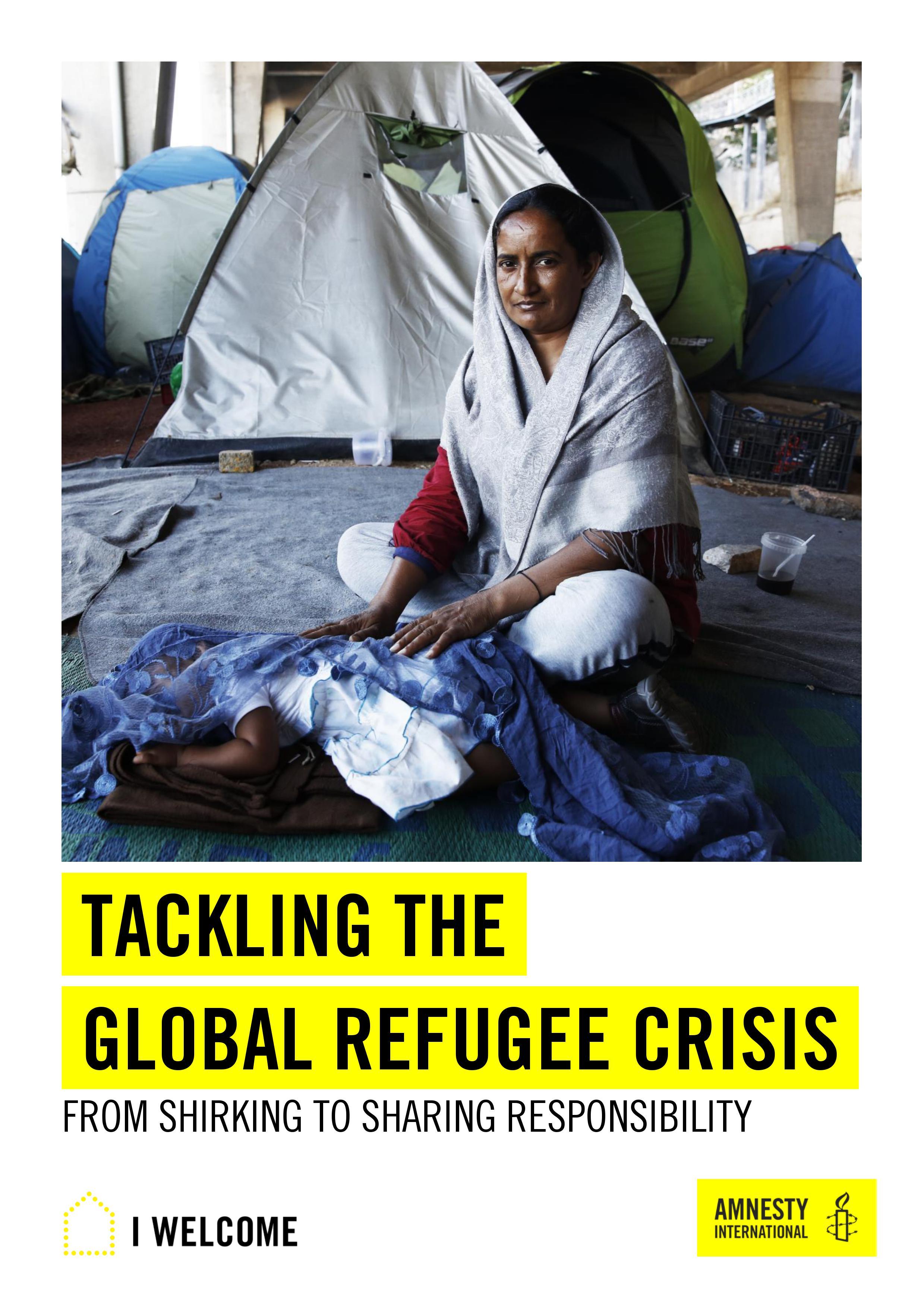 Bericht zur globalen Flüchtlingskrise (e oder f) zur Ausleihe