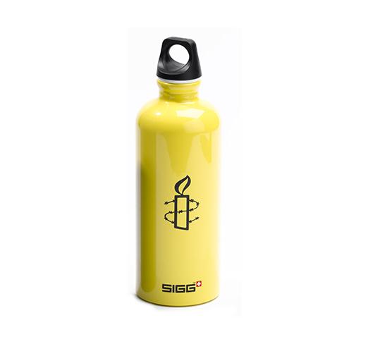 SIGG-Flasche gelb