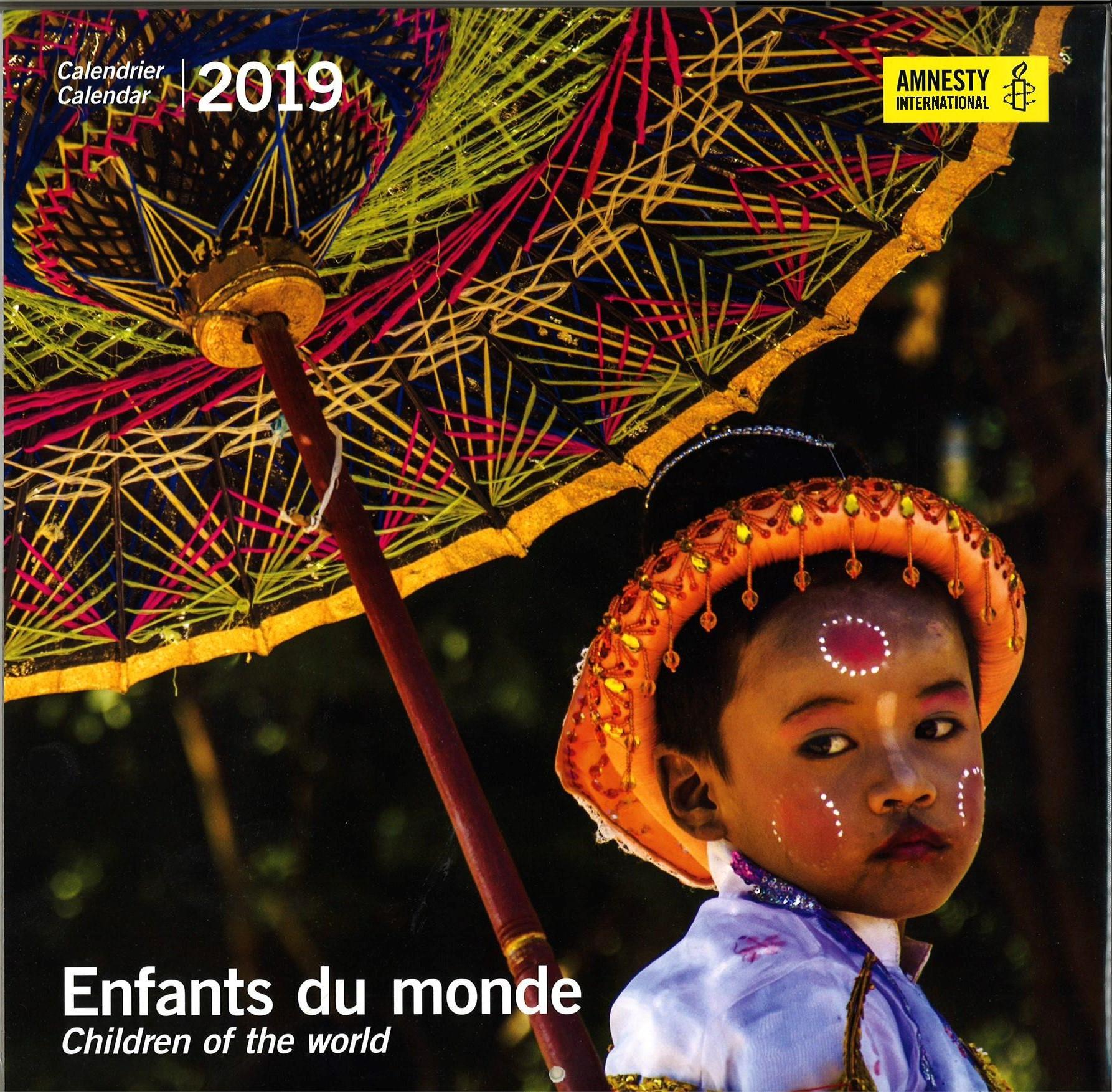 Wandkalender 2019 «Enfants du Monde»