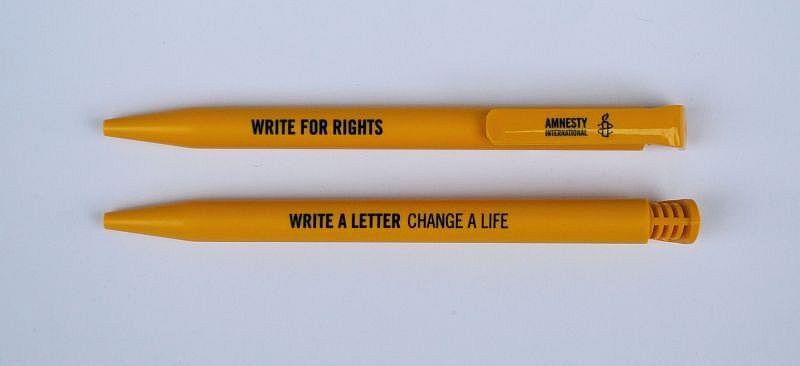 Kugelschreiber «write for rights»