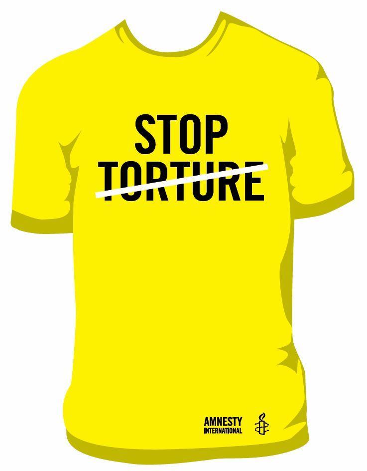 T-Shirt «Stop Torture»