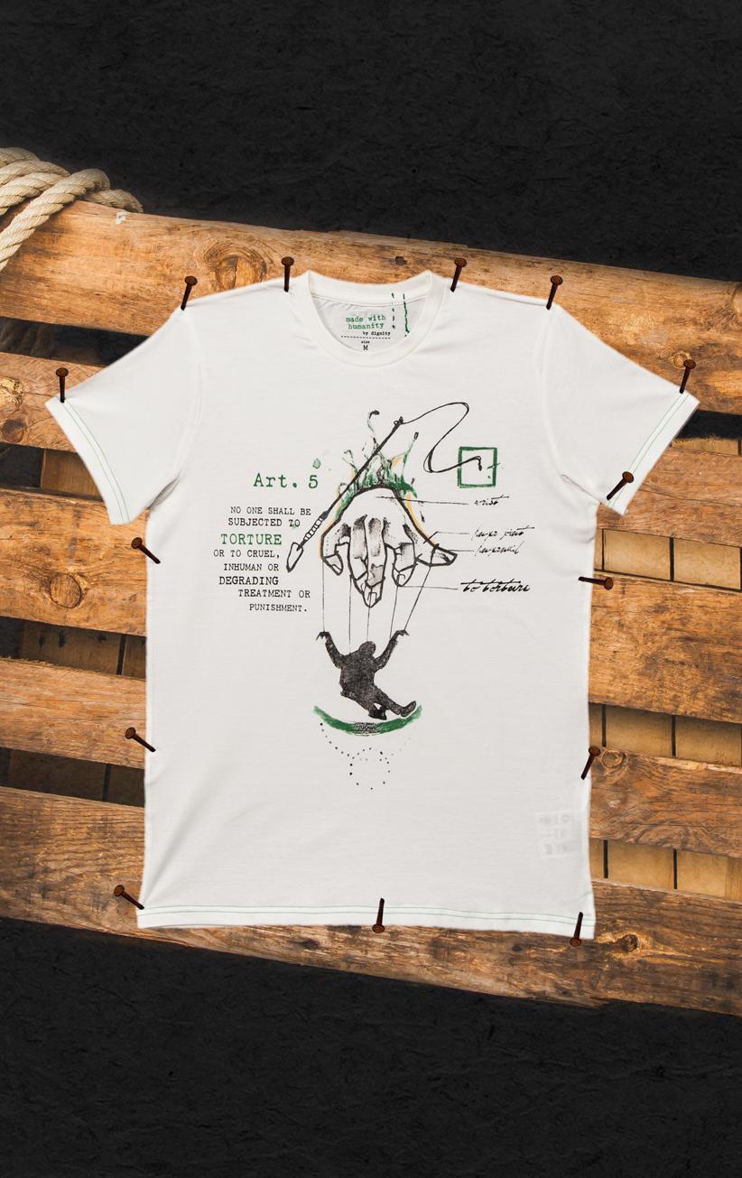 T-Shirt Folter Herren
