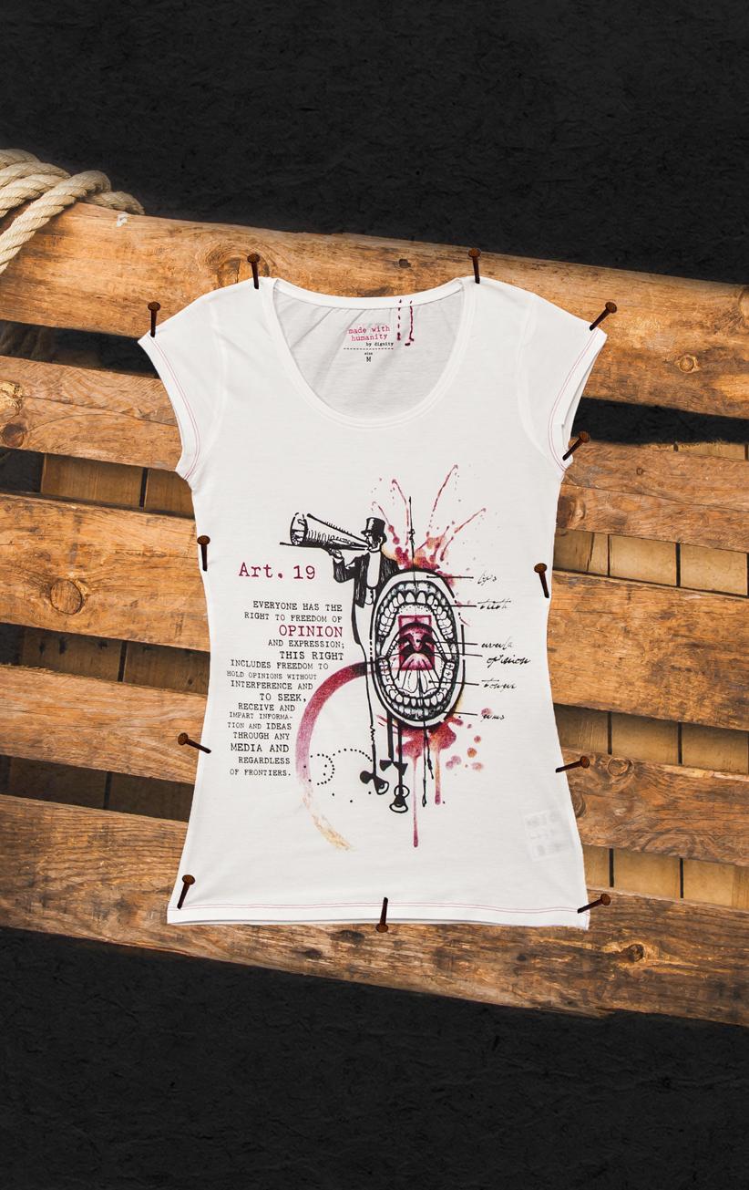T-Shirt Meinungsfreiheit Damen