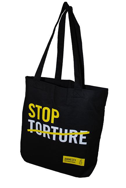 Tasche «Stop Torture»